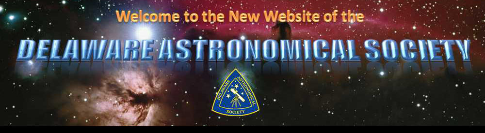 Delaware Astronomical Society Website - Home